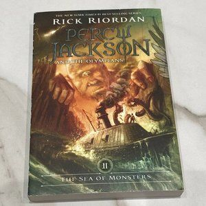 The Sea of Monsters Percy Jackson Paperback